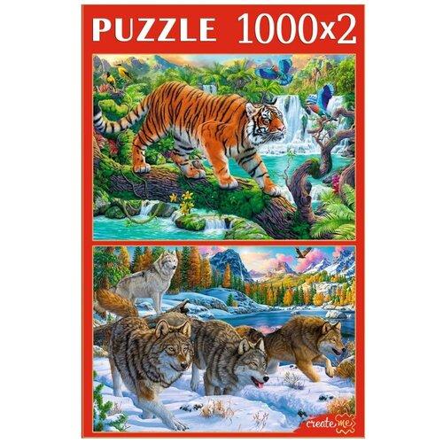 Рыжий Кот Пазл Рыжий Кот 2х1000 деталей: Животные №3