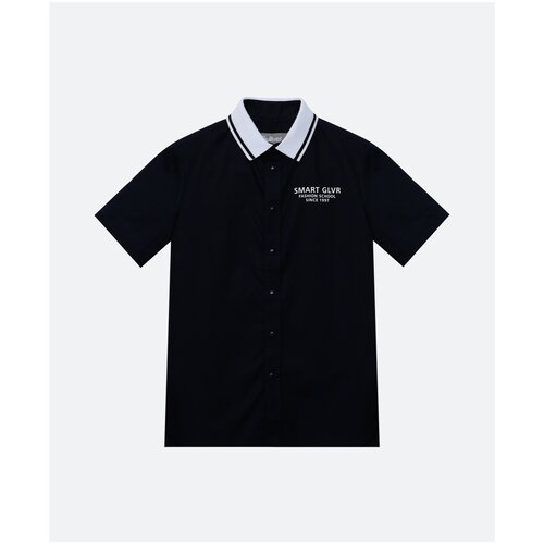 Рубашка Gulliver размер 146, синий