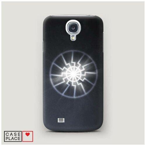 Чехол Пластиковый Samsung Galaxy S4 Черное солнце