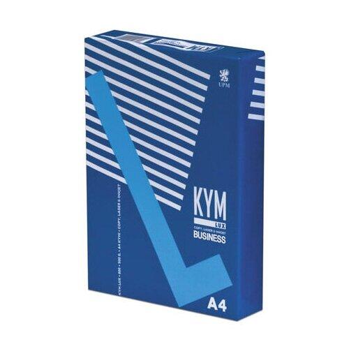 Фото - Бумага офисная KYM LUX BUSINESS, А4, 80 г/м2, 500 л., марка В, Финляндия, белизна 164% lux s120240