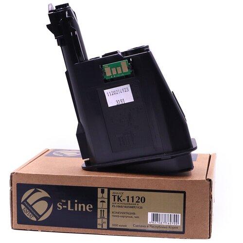 Фото - Тонер-картридж булат s-Line TK-1120 для Kyocera FS-1060 (Чёрный, 3000 стр.) тонер картридж булат s line tk 475 для kyocera fs 6025mfp чёрный 15000 стр