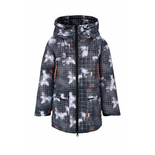 Купить Куртка Oldos Гильберт размер 122, асфальтовый рыжий, Куртки и пуховики