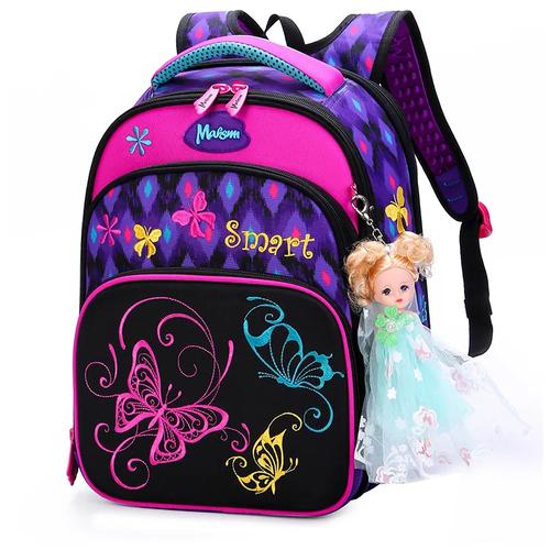 Школьный ранец для девочек Maksimm X511+ мешок для обуви