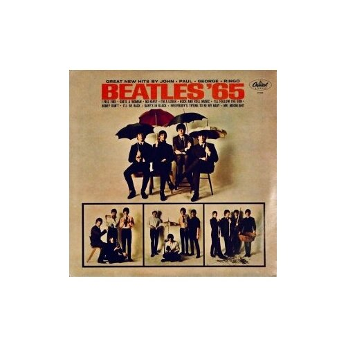 Старый винил, Capitol, THE BEATLES - Beatles '65 (LP, Used)