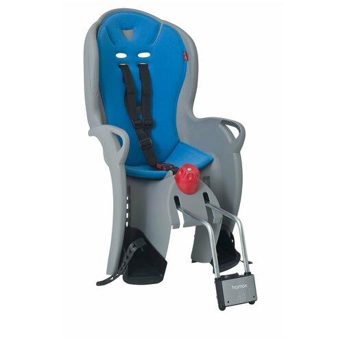 Детское велокресло HAMAX Sleepy(серо-голубой)