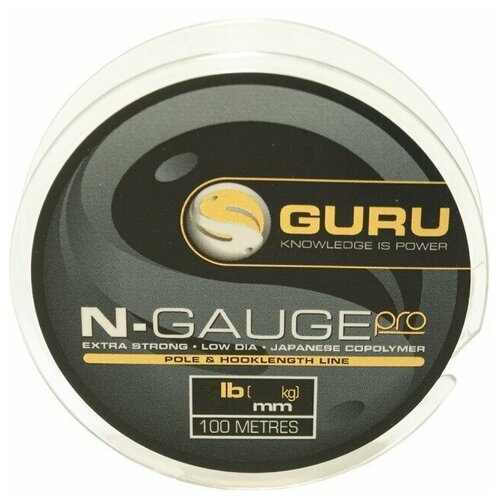 guru бикини Леска Guru N-Gauge Pro 0,09мм 100м