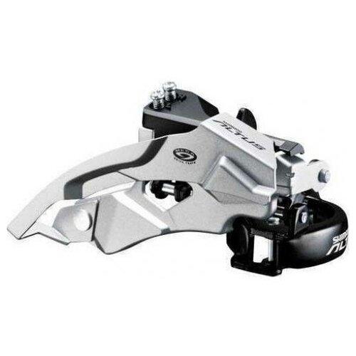 Переключатель передний для велосипеда Shimano Altus, M370, ун. тяга, ун. хомут, 3x9ск, уг.:63-66, 48T EFDM370X3