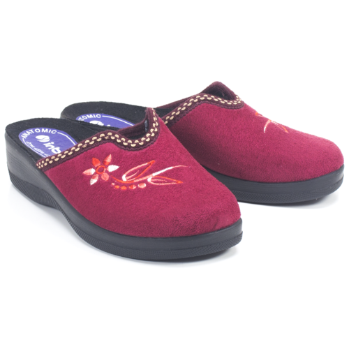 Тапочки Inblu бордовый 36