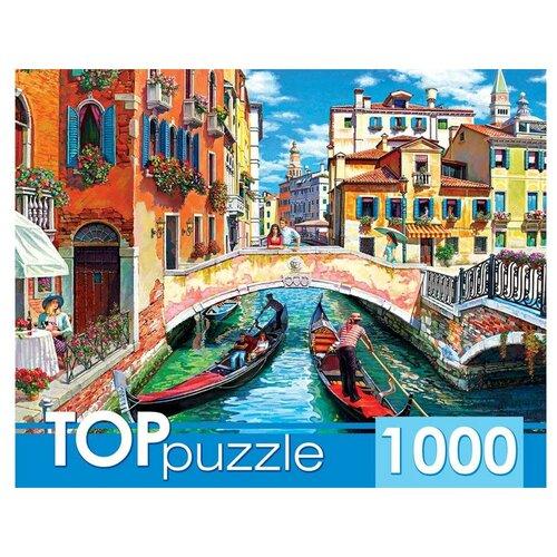 Пазл TOP Puzzle 1000 деталей: Гондолы в Венеции пазлы 1000 деталей сладости в венеции