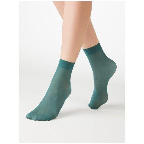 Капроновые носки MiNiMi Micro Colors 50 3D, размер 0 (one size), verde velluto