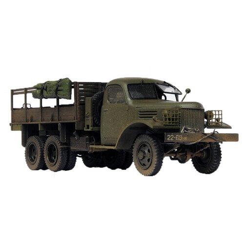 Сборная модель ZVEZDA Советский грузовик 4,5 тонны (ЗиС-151) (3541) 1:35 сборная модель zvezda советский грузовик 4 5 тонны зис 151 3541 1 35