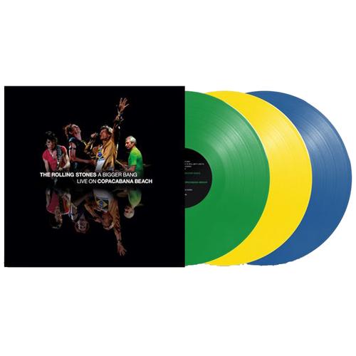 Виниловая пластинка. The Rolling Stones. A Bigger Bang. Coloured (3 LP)