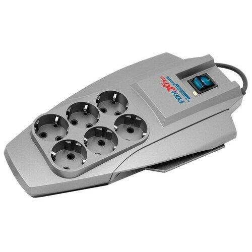 Фото - Сетевой фильтр Zis Pilot X-Pro 6 Sockets 5m 841506 сетевой фильтр zis pilot pro gp 6 sockets 7m grey