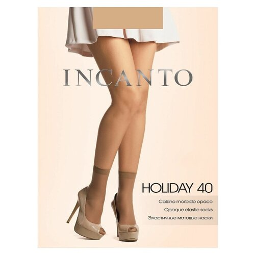 Капроновые носки Incanto Holiday 40, размер UNI, visone