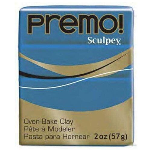 Купить Sculpey Набор полимерной глины Sculpey Premo 57 г синий (PE02 5103 синий), Глина