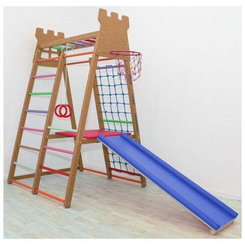 Детский спортивный комплекс Castle, цвет шоколад 3954471