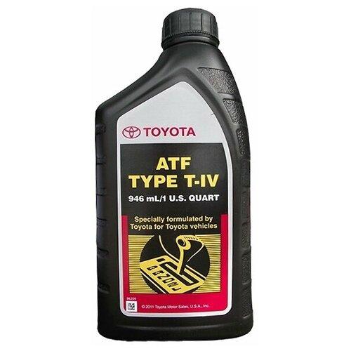 Трансмиссионное масло Toyota ATF Type T-IV (1 л.) 00279-000T4