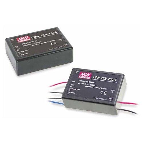 LED-драйвер Mean Well LDH-45B-1050W DC-DC драйвер светодиодов вход 18…32В DC