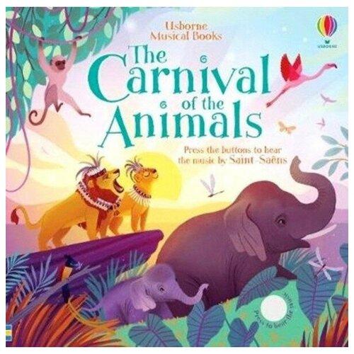 Купить Sound Books Carnival of Animals, Usborne, Детская художественная литература