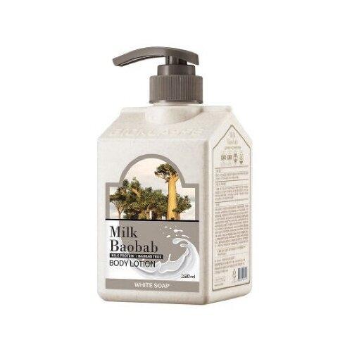 Купить MB PWS Лосьон для тела MilkBaobab Perfume Body Lotion White Soap 250мл, Milk Baobab