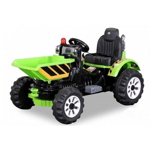 детский электромобиль jiajia bmw x6m black 12v jj2168 Детский электромобиль трактор на аккумуляторе Jiajia JS328C-G