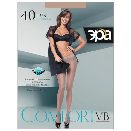 Колготки ЭРА Comfort VB, 40 den, размер 2, загар (бежевый)