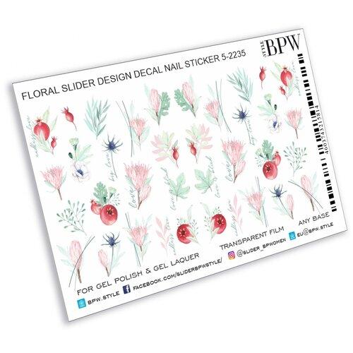 Купить BPW.Style, слайдер-дизайн (Ветви и цветы, sd5-2235), BPW style