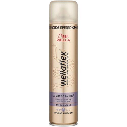 Wella Лак для волос Wellaflex Объем до 2 дней, сильная фиксация, 400 мл недорого