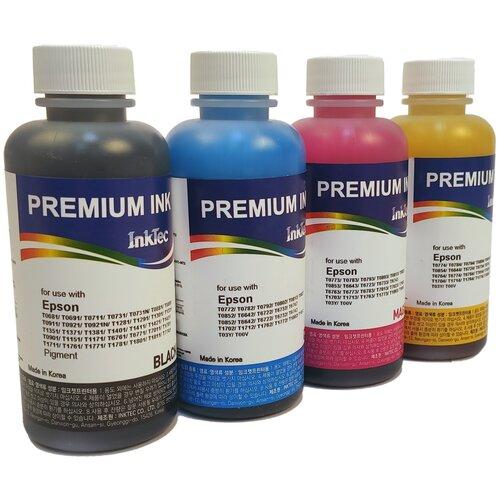 Чернила (краска) InkTec E0013 и E0010 для принтеров Epson: Expression Home XP-103, XP-303, XP-207, XP-203, XP-406, XP-306, XP-33, XP-403, XP-313, XP-413, XP-423, XP-323 100x4
