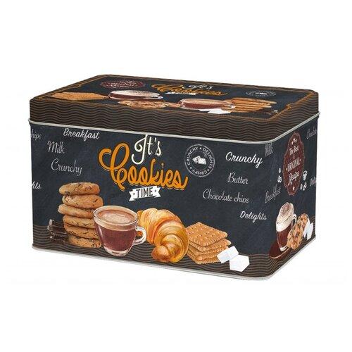 Easy Life Банка для печенья Easy Life R2S080_ICOT-AL черный/коричневый