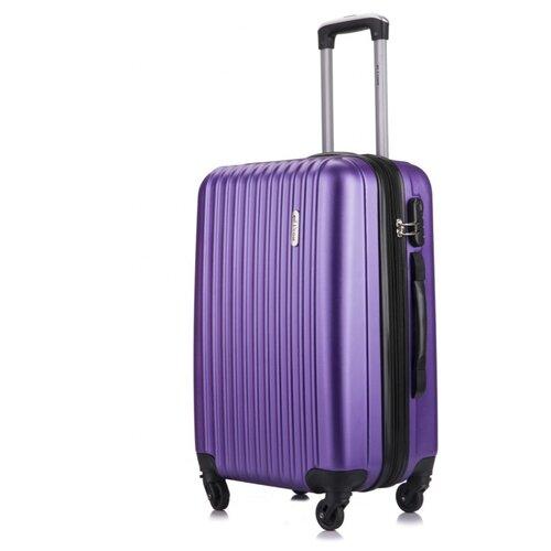 Чемодан LCase, Krabi c расширением, фиолетовый 26