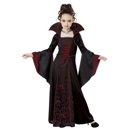 Костюм таинственная Королева вампиров детский California Costumes S (6-8 лет) (платье, колье)