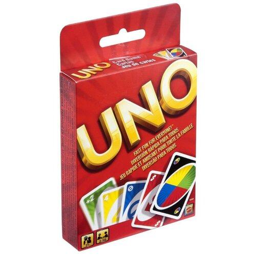 Фото - Настольная игра Mattel UNO карточная, классическая настольная игра уно дисплей uno