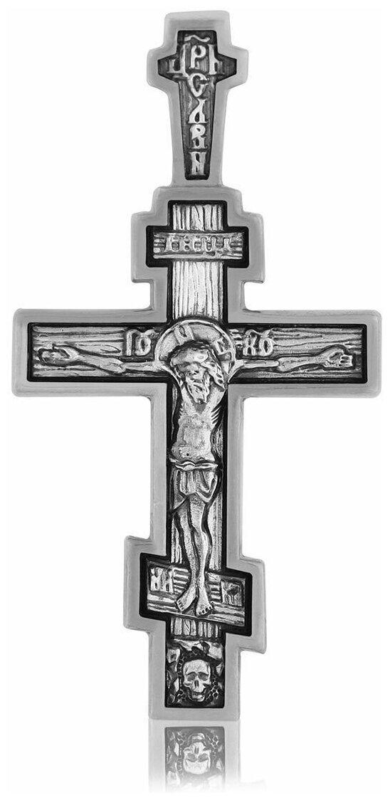 TOP CRYSTAL Крест нательный с Распятием Иисуса Христа и Молитвой Спаси и Сохрани 11012269 — купить по выгодной цене на Яндекс.Маркете