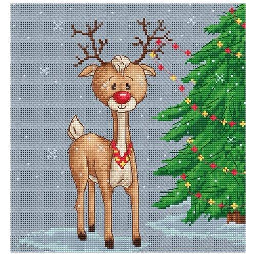 Фото - Luca-S Набор для вышивания Денни, 18 x 19.5 см, B1043 bu4022 набор для вышивания хижина в лесу 43 5 40см luca s