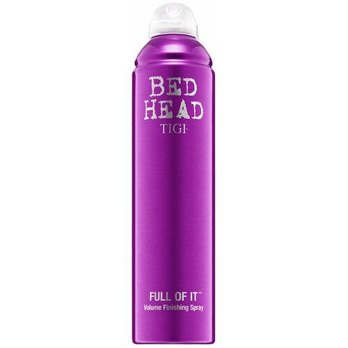 TIGI Спрей для укладки волос Bed head Full of it, сильная фиксация, 371 мл tigi bed head cтайлинговый крем для укладки бороды и волос tigi bh 100 мл