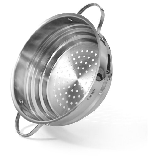 Вставка-пароварка Fissman 20/22/24 см с двумя боковыми ручками (нерж. сталь) (5123)