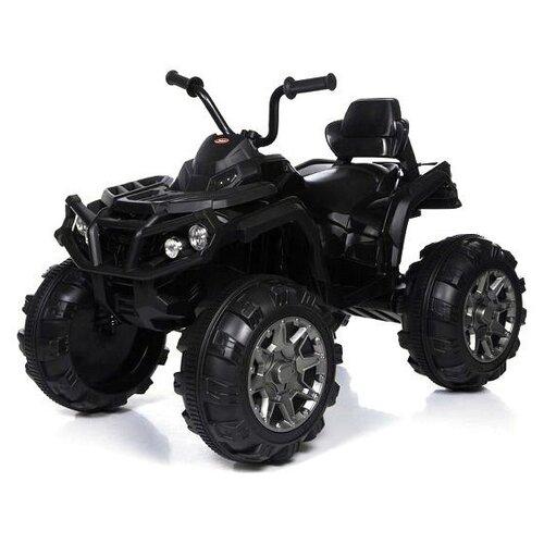 детский электромобиль jiajia bmw x6m black 12v jj2168 Детский электромобиль квадроцикл на аккумуляторе Jiajia BDM0906-BLACK-RC