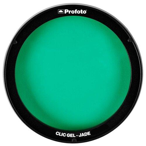 Фото - Фильтр для вспышки Profoto Clic Gel Jade для A1, A1X, A10, C1 Plus фильтр для вспышки profoto clic gel peacock blue для a1 a1x a10 c1 plus