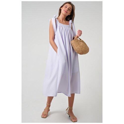 Платье FLY. размер 48, бледно-сиреневый