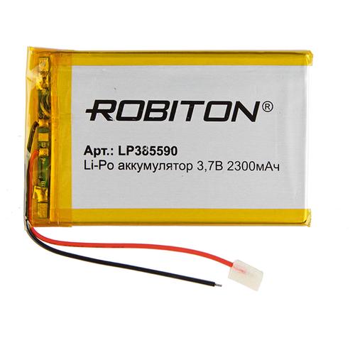 Фото - Аккумулятор ROBITON LP385590 3.7В 2300mAh аккумулятор robiton lp501335