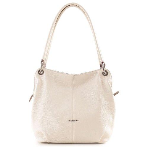 Женская сумка-мешок Fiato collection, 2743 вителло бежевый