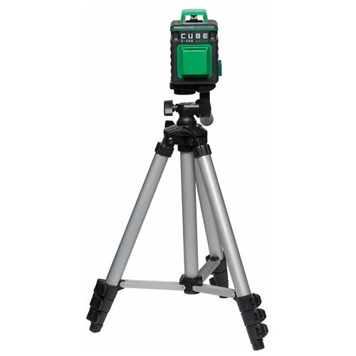Лазерный уровень ADA instruments CUBE 2-360 Green Ultimate Edition (А00471) со штативом лазерный уровень ada cube 360 ultimate edition [а00446]