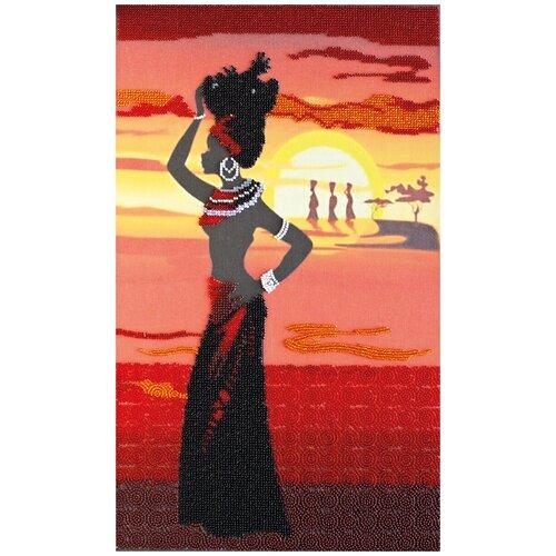Купить Набор для вышивания бисером АБРИС АРТ AB-467 Африка-2, ABRIS ART, Наборы для вышивания