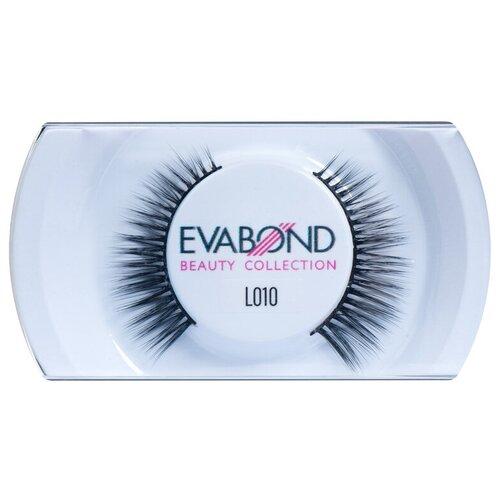Купить EVABOND Накладные ресницы L010 черный