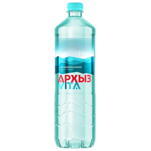 Вода минеральная Архыз без газа 9 шт по 1 л пэт