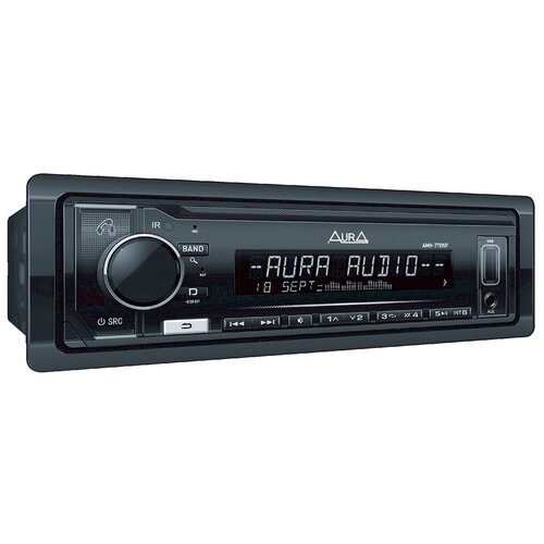 Автомобильный USB/SD ресивер Aura 77DSP Black Edition