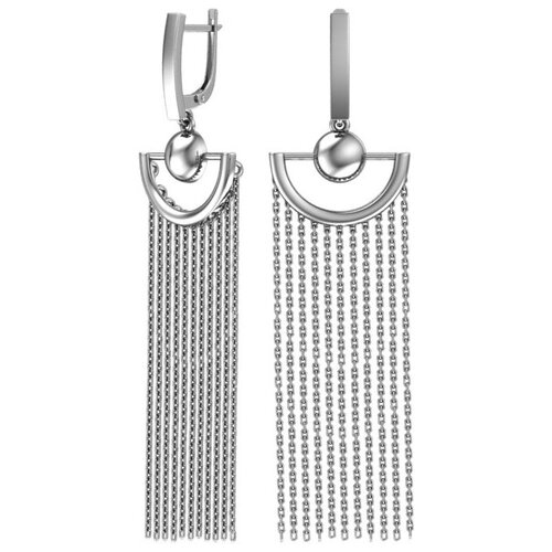 POKROVSKY Серебряные серьги 0221410-00245 pokrovsky серебряные серьги 2121129 00245