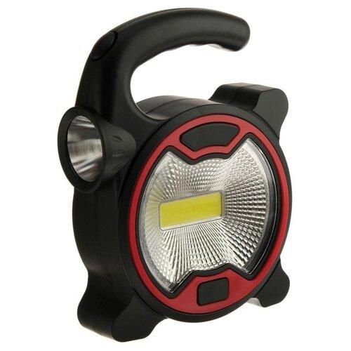 Прожектор светодиодный автономный Ritter, 5 Вт COB+1 Вт LED, 3xAA, 300 Лм + 80 Лм, IP23 5248249