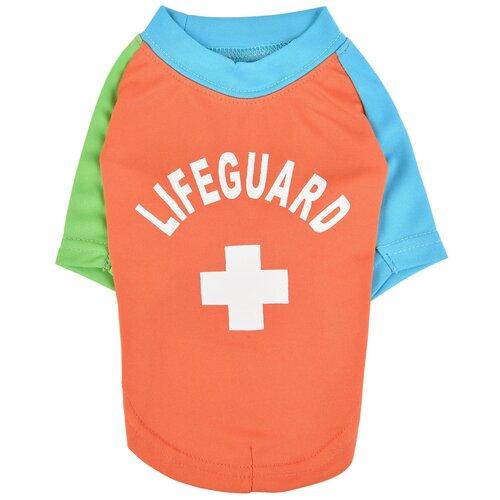 Футболка для собак Puppia Rescuer S оранжевый